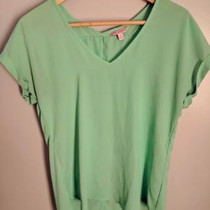 Candie's Mint Green Blouse